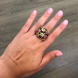 Betsey Johnson Flower Ring